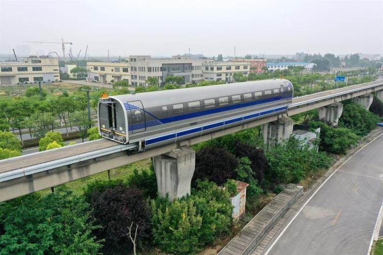 China's 600 km/h high-speed maglev test vehicle completes test run-cnEVpost
