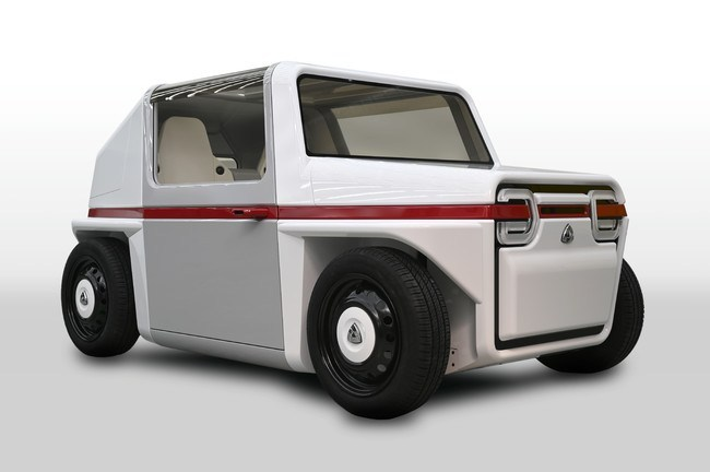 """AZAPA comes to China with the ultra-compact mobility concept car """"AZAPA-FDS Concept-cnEVpost"""