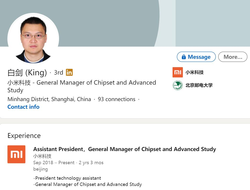 NIO confirms former Xiaomi chip chief is on board-CnEVPost