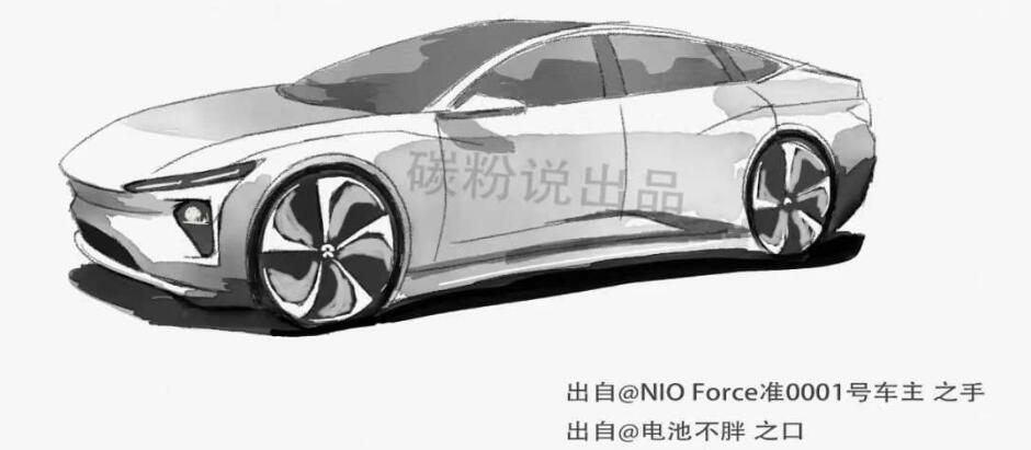 Is this what NIO's first sedan will look like?-CnEVPost