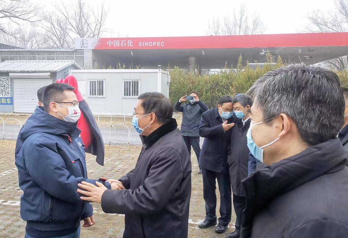 Oil giant Sinopec chairman visits NIO's battery swap station-CnEVPost