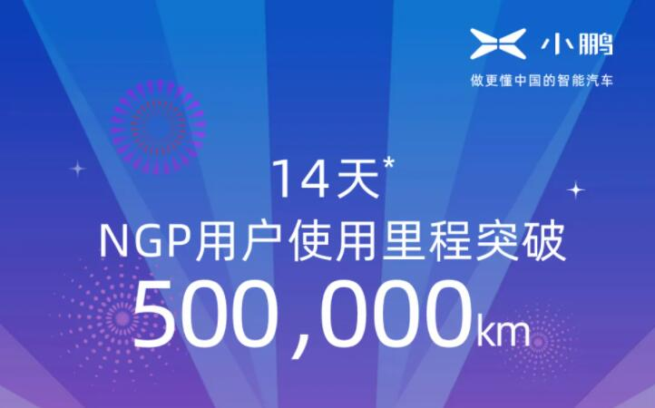 XPeng says NGP user mileage tops 500,000 km 14 days after launch-CnEVPost