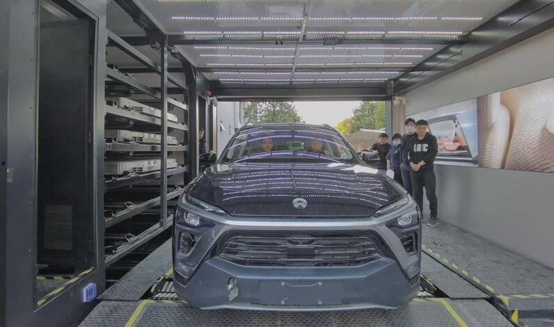 NIO's second-gen battery swap station begins final testing, deployment expected to begin in April-CnEVPost