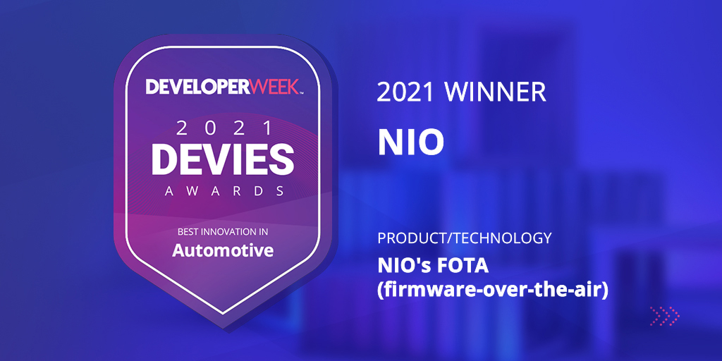 NIO's FOTA named 'Best Innovation in Automotive' at influential tech event-CnEVPost