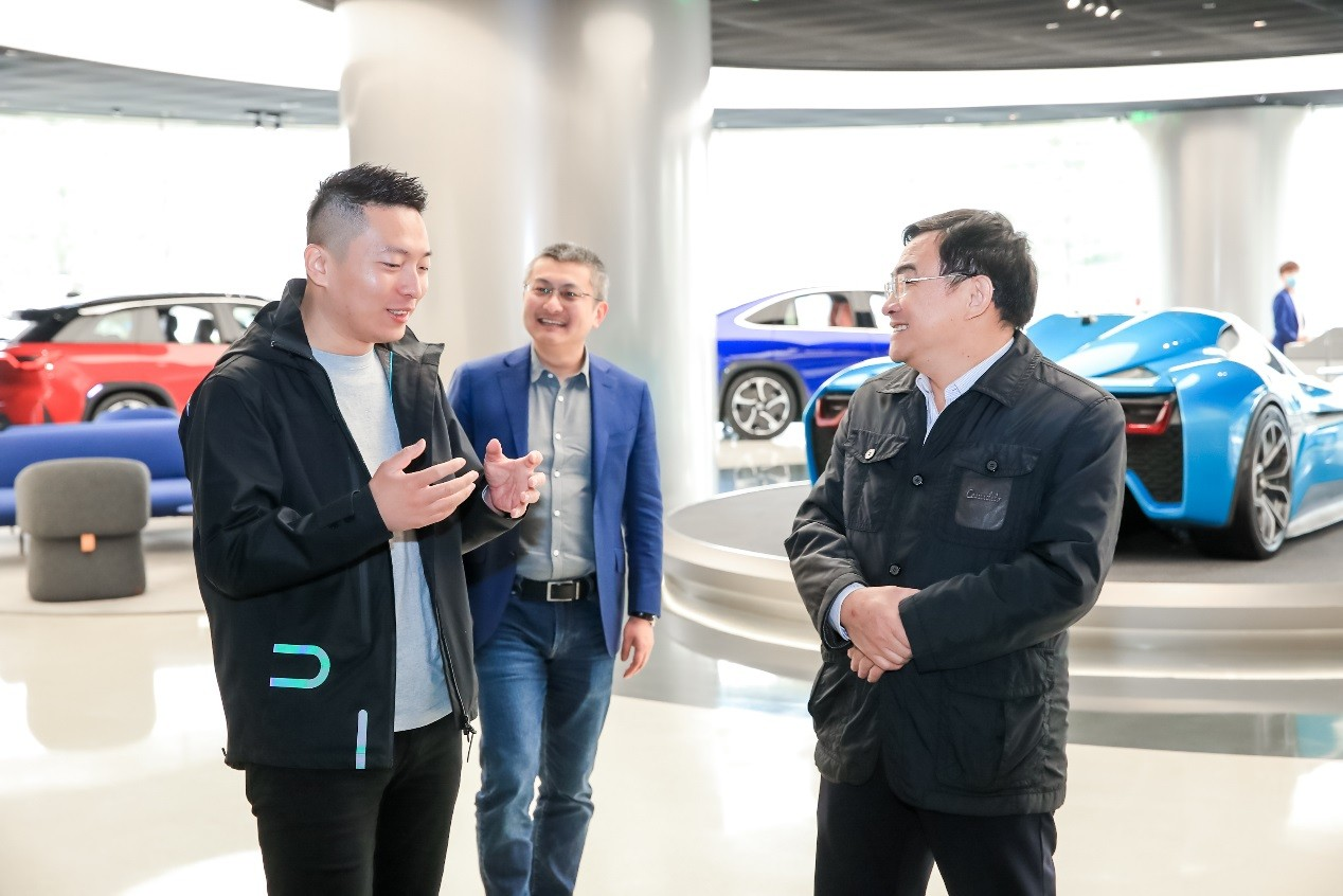 NIO signs agreement with state-owned infrastructure firm to accelerate battery swap station construction-CnEVPost