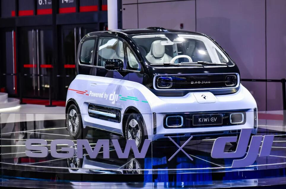 SAIC-GM-Wuling to be first car company to use DJI's smart driving solution-CnEVPost