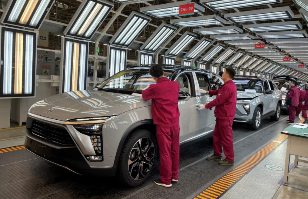 NIO renews contract with JAC, annual capacity to be doubled to 240,000 units-CnEVPost