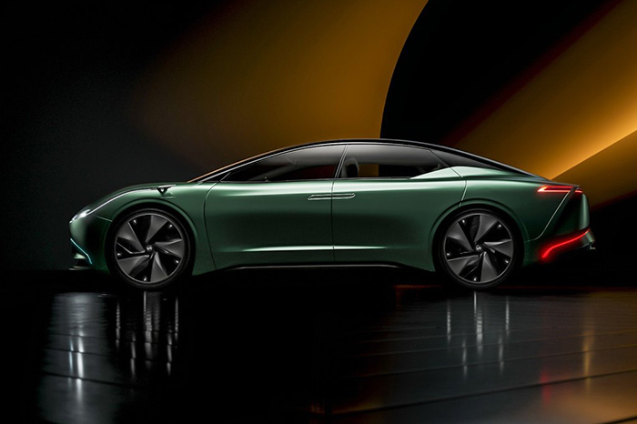 WM Motor's first electric sedan to be named after its concept car Maven-CnEVPost