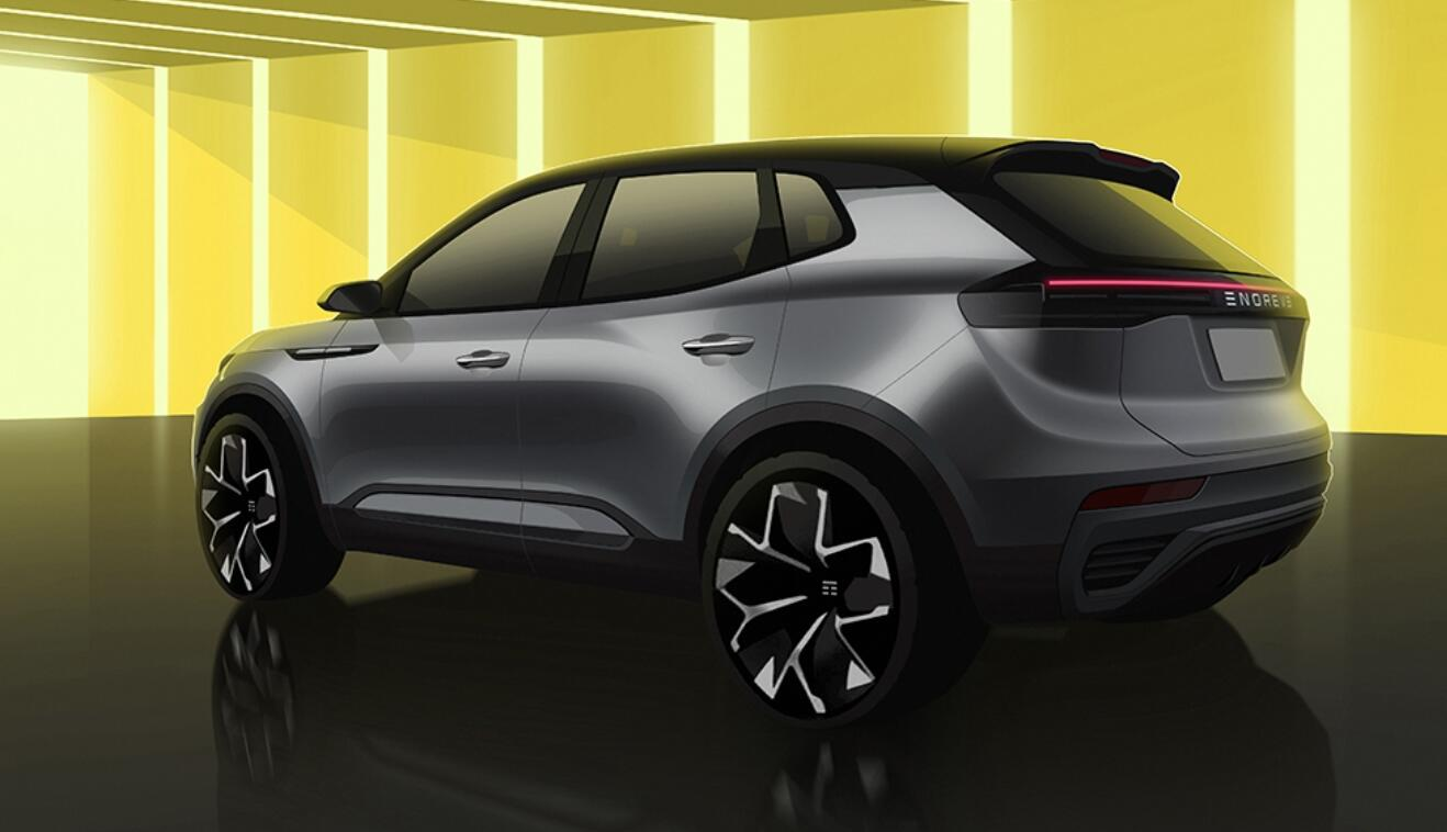 Chinese EV startup Enovate Motors unveils design of its second model-CnEVPost