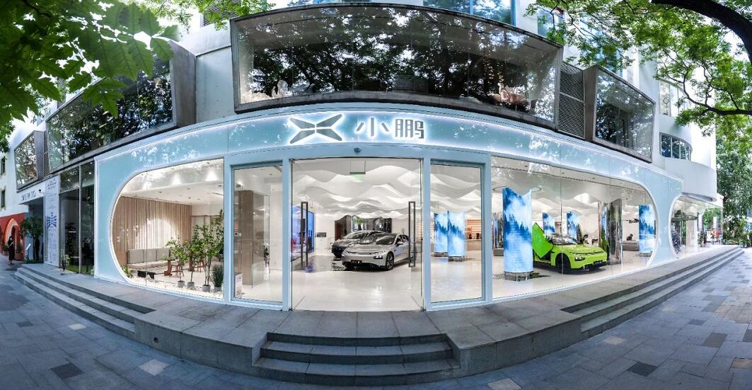 XPeng opens first flagship experience center in major brand upgrade-CnEVPost