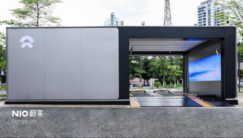 NIO's 250th battery swap station comes online, halfway to this year's goal-CnEVPost