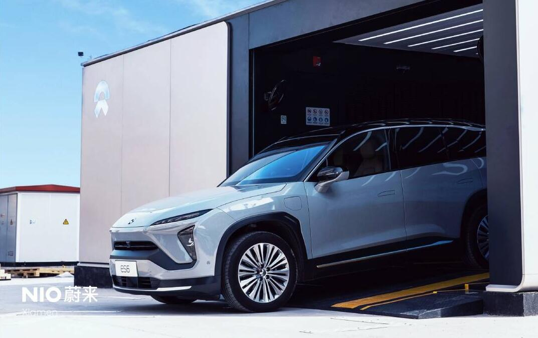 NIO's first second-gen battery swap station in Xiamen goes live-CnEVPost