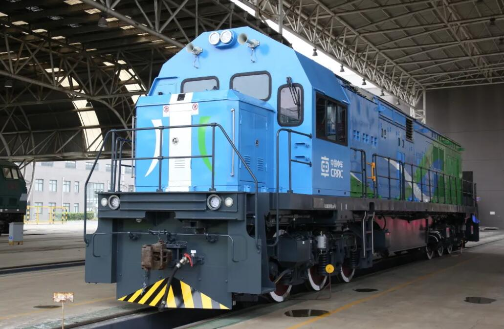 Another hydrogen hybrid locomotive from CRRC rolls off line-CnEVPost