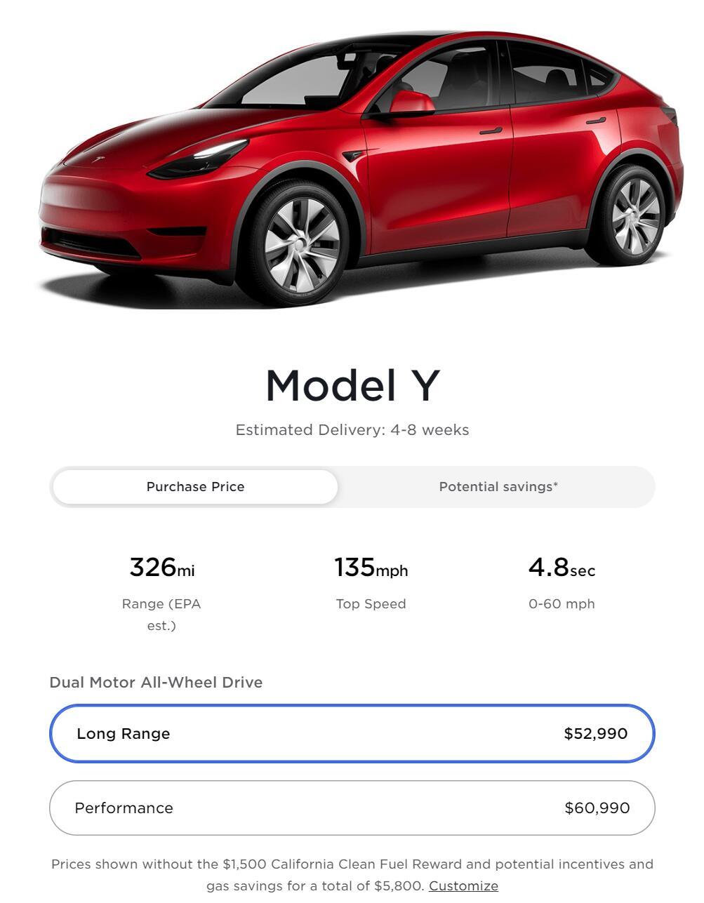 Tesla raises Model Y Long Rang price by $500 in US-CnEVPost