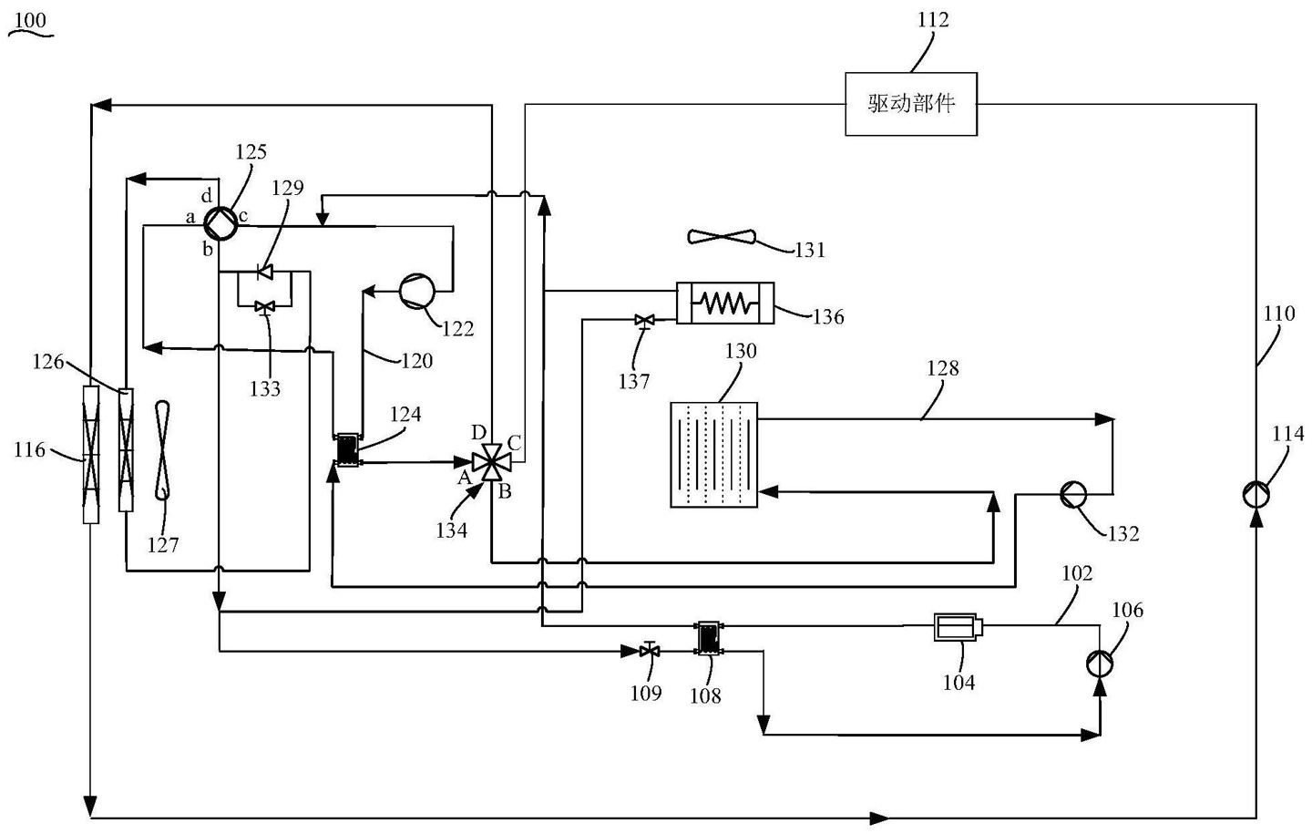 XPeng files patent for thermal management system that can improve battery heat dissipation-CnEVPost