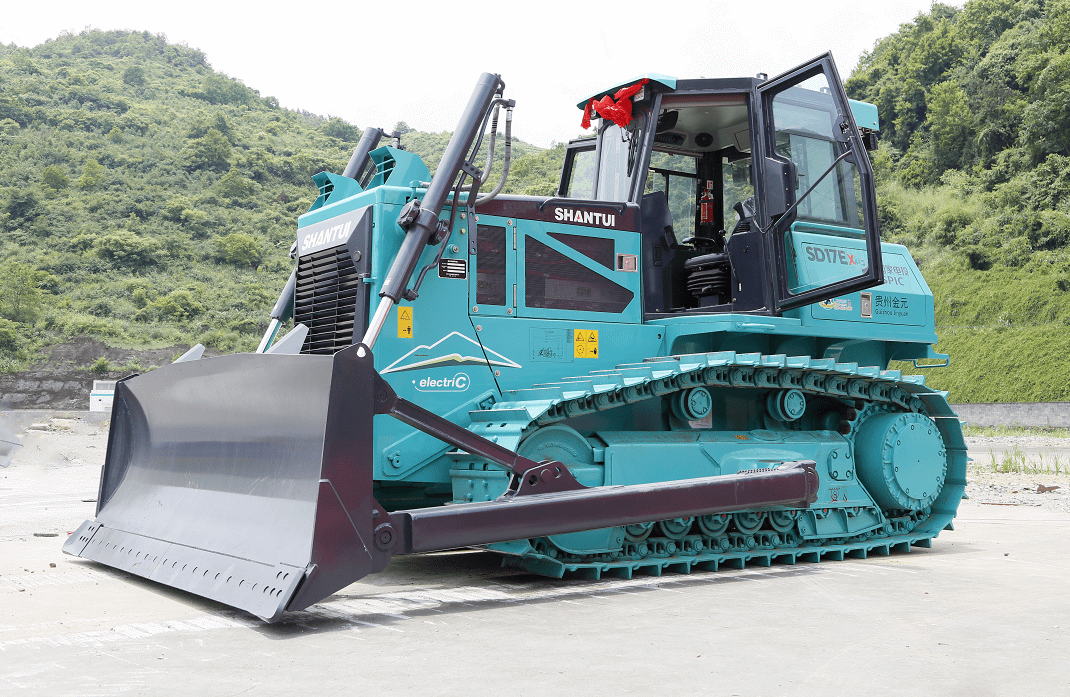 Pure electric bulldozer goes into service in China, first of its kind in the world-CnEVPost