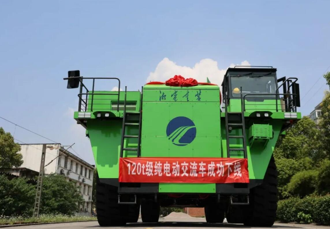 China makes world's first 120-ton pure electric mining dump truck with CATL batteries-CnEVPost