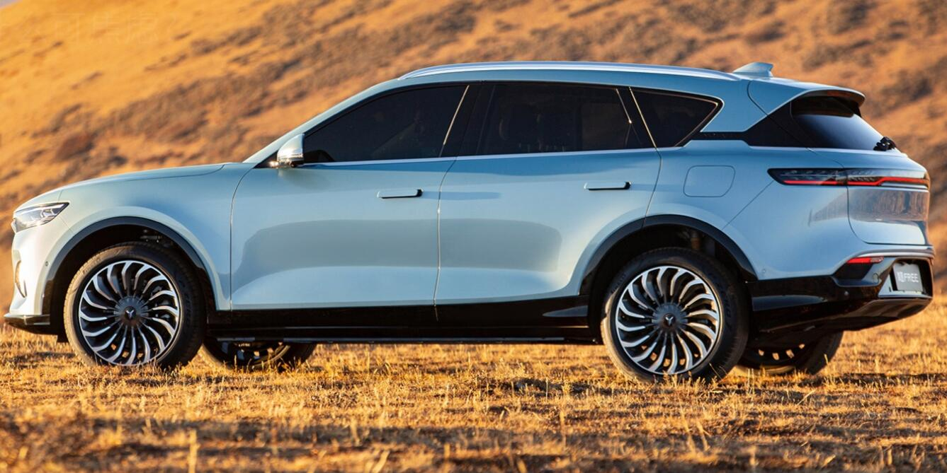 Dongfeng Motor's premium electric SUV, Voyah FREE, will begin deliveries on July 29-CnEVPost