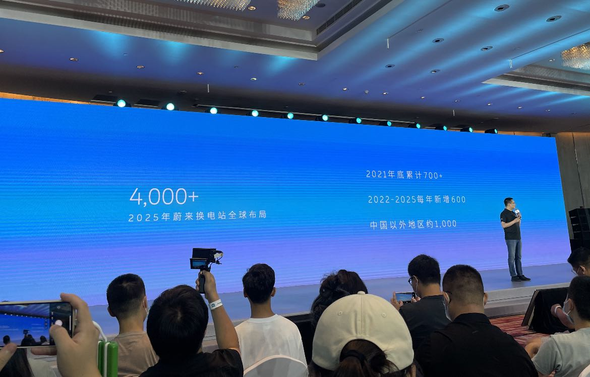 NIO raises its target for battery swap stations this year from 500 to 700-CnEVPost