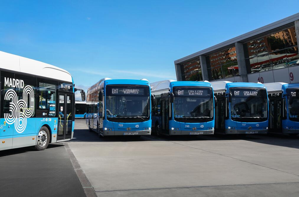 BYD gets new order for electric buses from Spain-CnEVPost