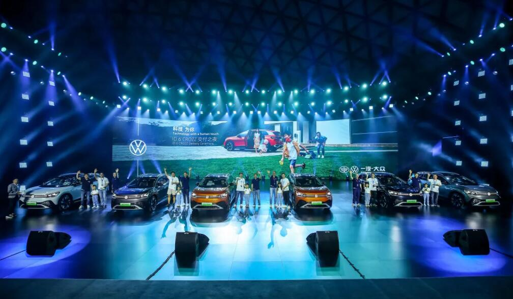 VW starts delivery of ID.6 CROZZ in China-CnEVPost