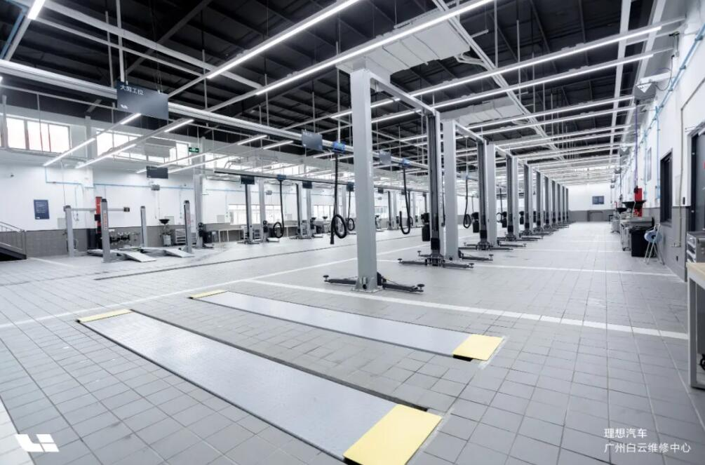 Li Auto opens its largest after-sales repair center in Guangzhou-CnEVPost