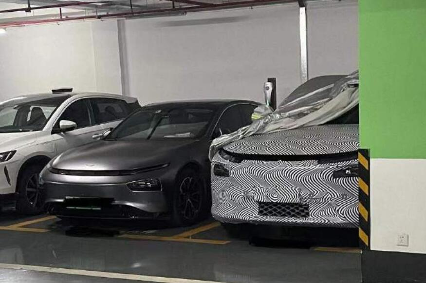 XPeng's new SUV camouflage photos revealed, may be model to be released next year-CnEVPost