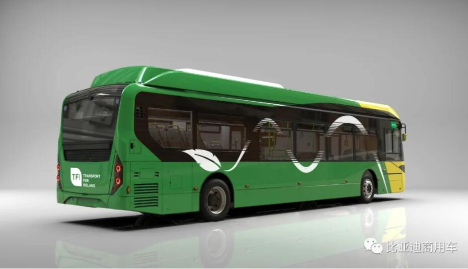 BYD gets first order for 200 pure electric buses from Ireland-CnEVPost