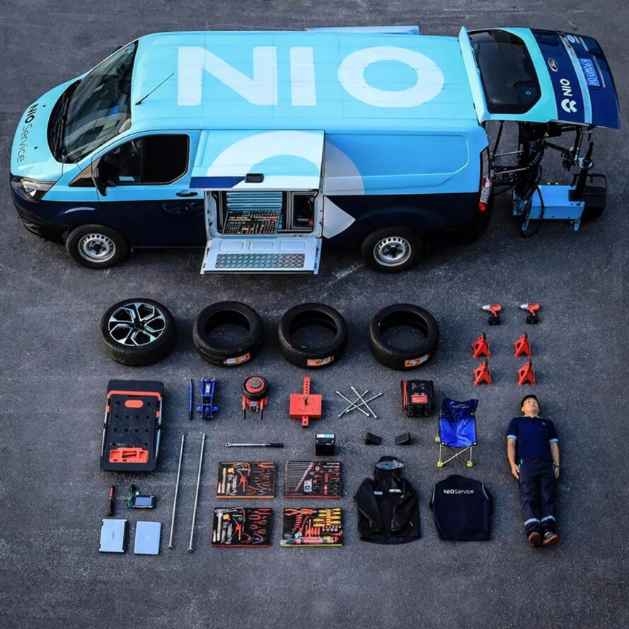 NIO unveils mobile service van that can help users fix their cars anywhere, anytime-CnEVPost