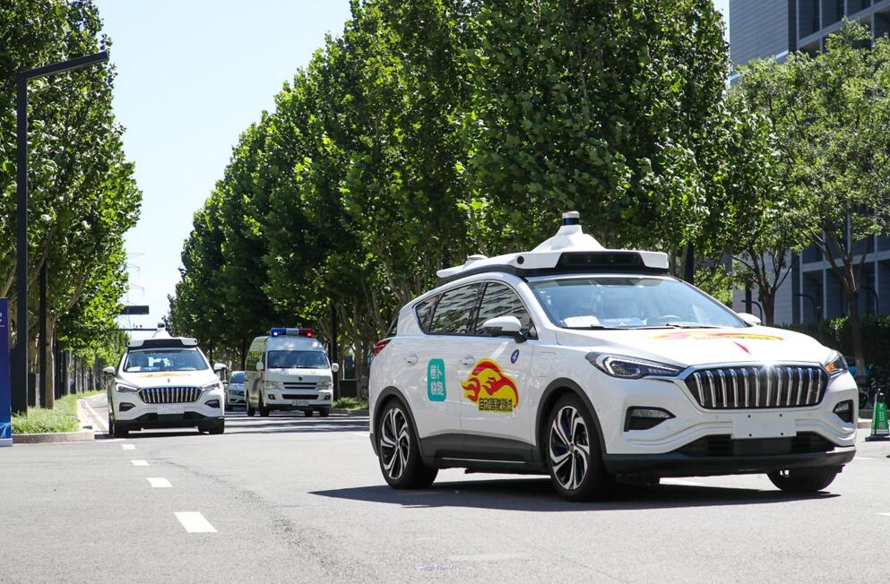 Baidu Apollo launches self-driving routes in Beijing's Tongzhou District-CnEVPost