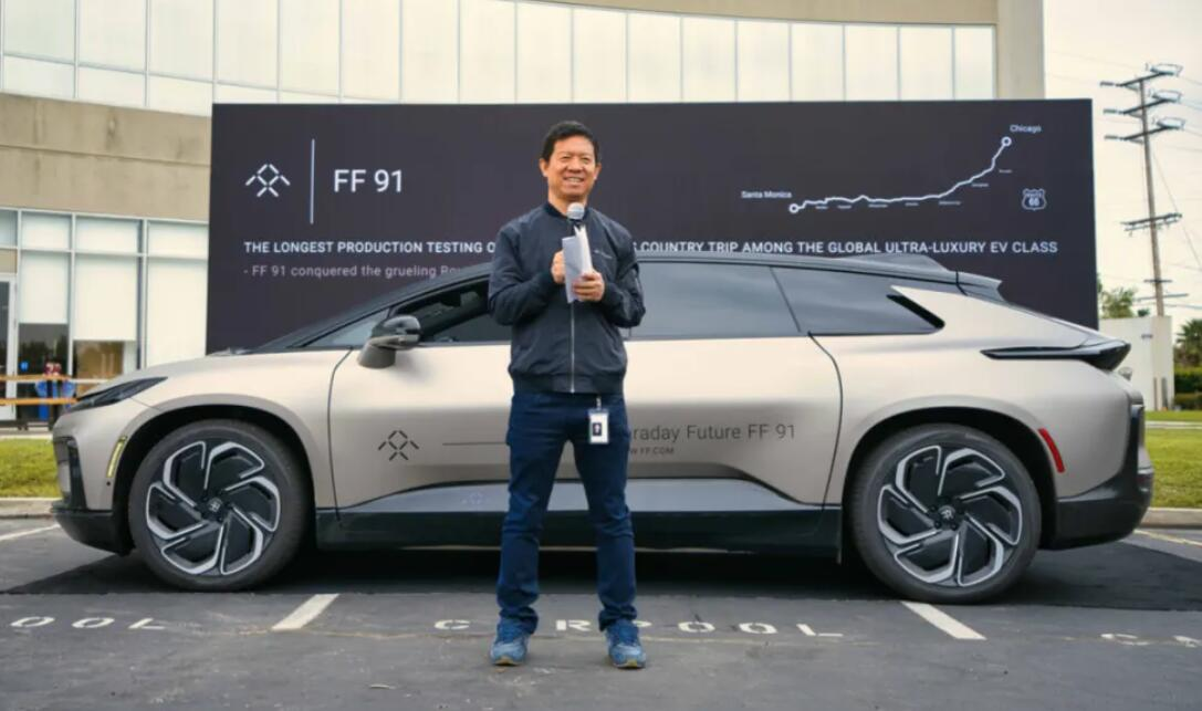 Faraday Future says FF 91 completes 3,653 km of road testing-CnEVPost