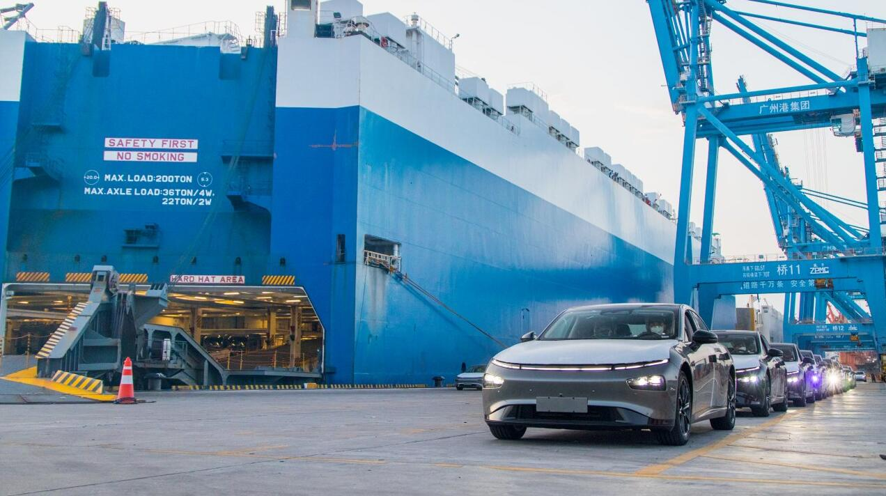 XPeng sends flagship sedan P7 to Norway for first time-CnEVPost