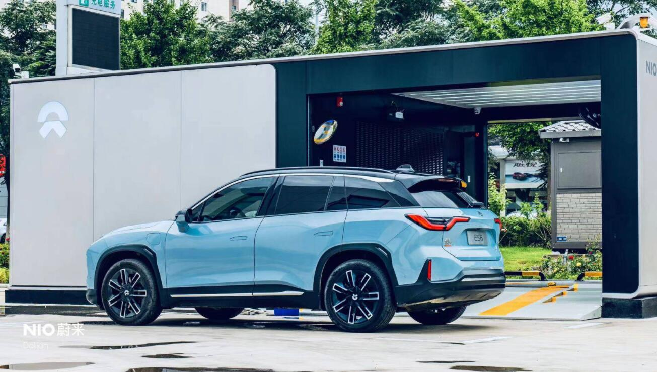 NIO's new battery swap station with Sinopec opens in Dalian, bringing total to 391-CnEVPost