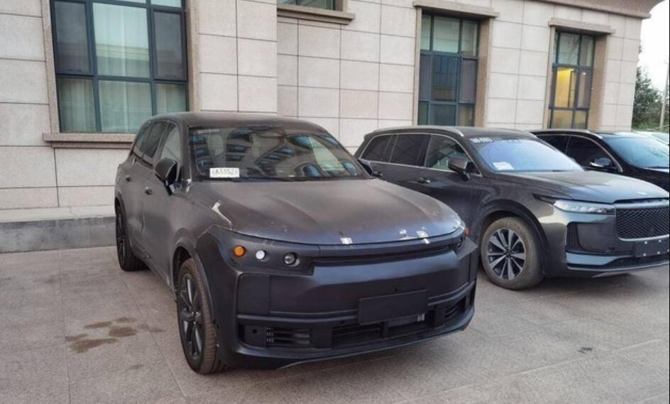 Spy photos of Li Auto's new model X01 revealed-CnEVPost