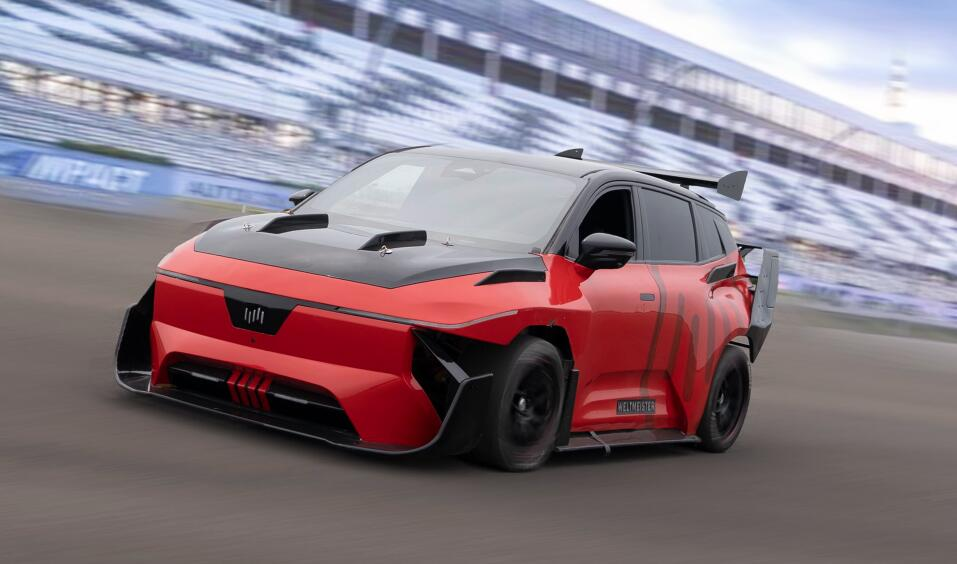 WM Motor boasts its modified car can accelerate from 0 to 100 km/h in 1.8 seconds-CnEVPost