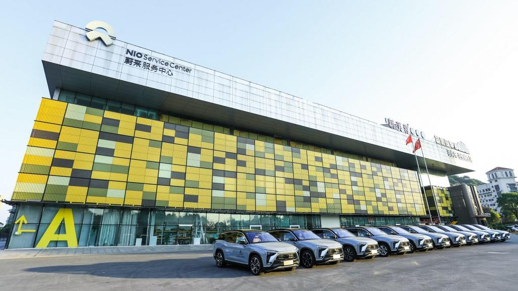 NIO ES8 becomes designated vehicle for 2nd China-Africa trade expo-CnEVPost