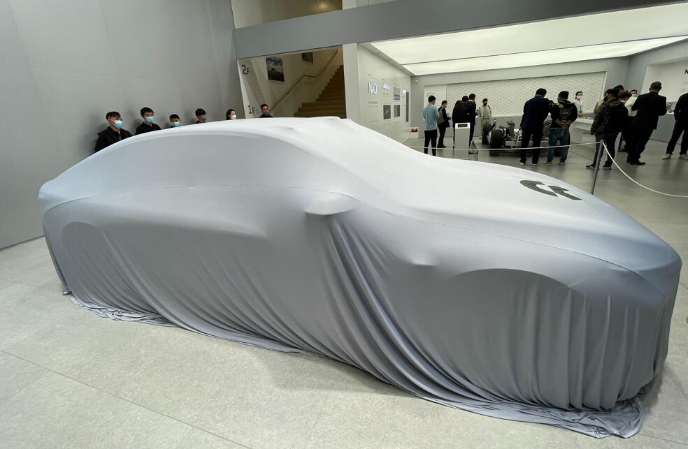 NIO targets annual production capacity of 600,000 units by end of 2022, according to Deutsche Bank-CnEVPost
