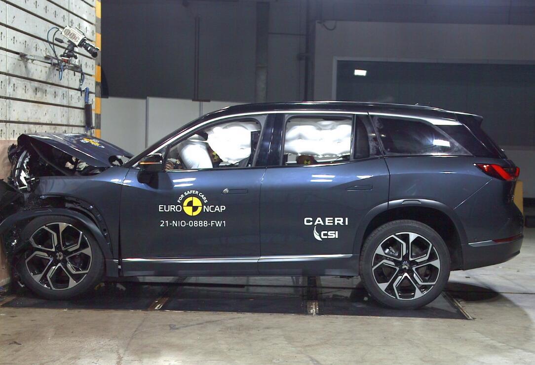 NIO ES8 gets 5-star safety rating in European crash test-CnEVPost