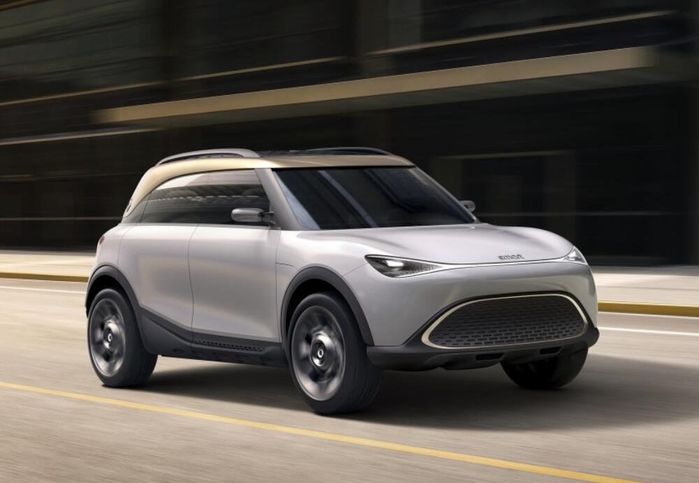 Smart's first concept electric SUV based on Geely SEA architecture unveiled-CnEVPost