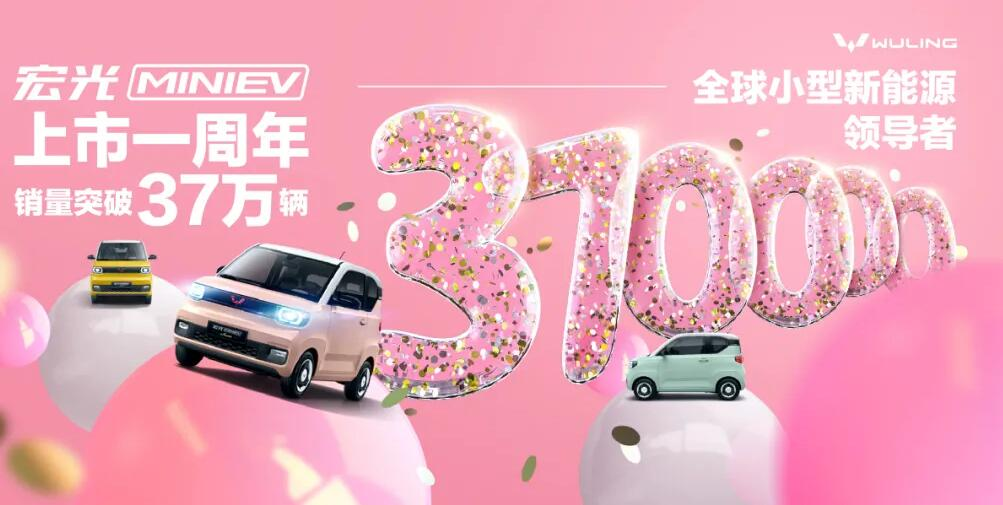 Wuling says Mini EV cumulative sales top 370,000, unveils two new color options-CnEVPost