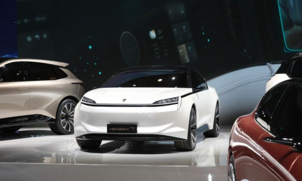 Evergrande Auto's Hengchi 7 sedan seen undergoing road tests-CnEVPost