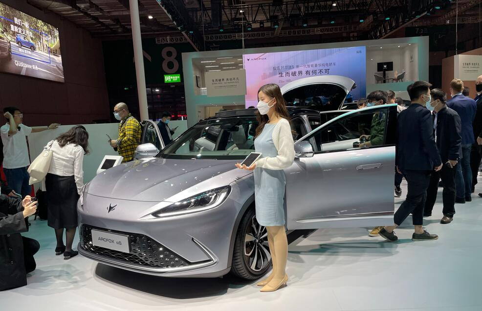 Huawei set to offer BAIC's new energy vehicles in its sales channels-CnEVPost