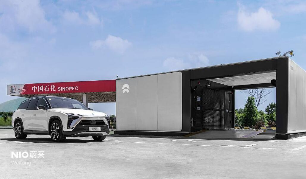 NIO adds 5 new battery swap stations, bringing total to 471-CnEVPost