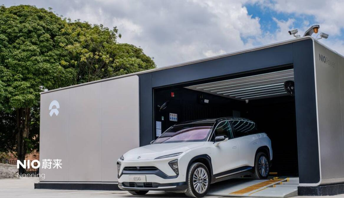 NIO, Sinopec put another jointly-built battery swap station into operation-CnEVPost
