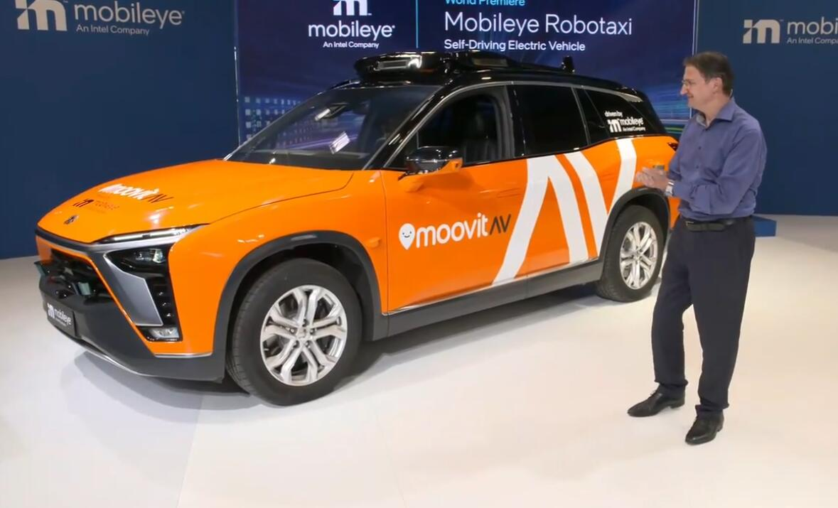 Intel to launch NIO ES8-based robotaxi service test in Germany next year-CnEVPost